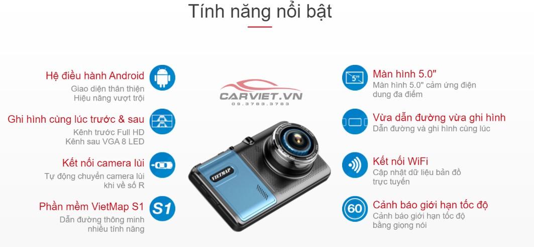 camera hành trình vietmap a50 chính hãng carviet