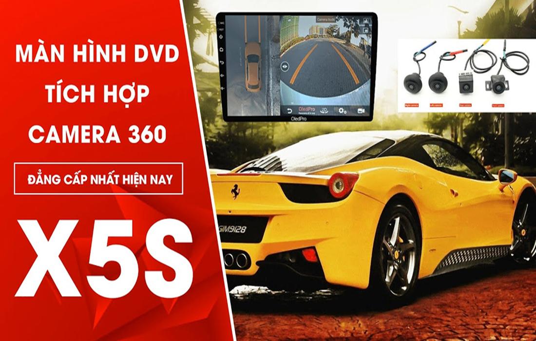 Màn hình DVD Android Oled Pro X5S giá tốt nhất